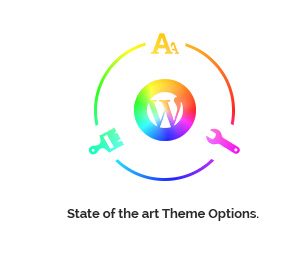 State of the art Theme Options - ultimate tools to create a unique design!