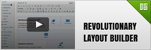 Revolutionary layout builder
