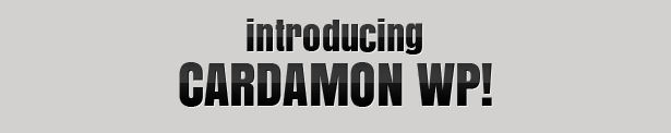 Introducing Cardamon WP!
