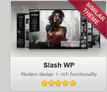 Slash WP - Modern Photography WordPress Theme