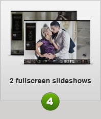 2 fullfcreen slideshows