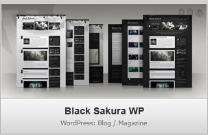 Black Sakura WP &#8211; Blog / Magazine WordPress Theme