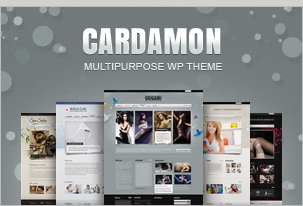 Cardamon WP &#8211; Multiporpouse WordPress Theme