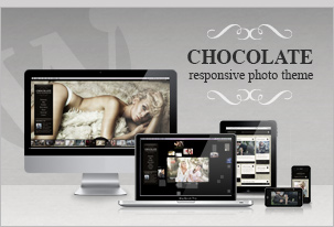 Chocolate WP &#8211; Creative / Photography WordPress Theme