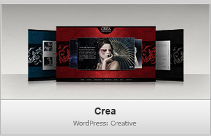 Crea WP &#8211; Creative / Portfolio WordPress Theme