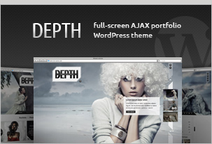 Depth HTML – Full-Screen AJAX Portfolio
