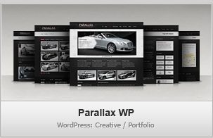 Parallax WP – Creative / Portfolio WordPress Theme