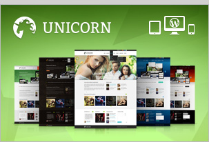 Unicorn — Multipurpose Retina Ready WP Theme