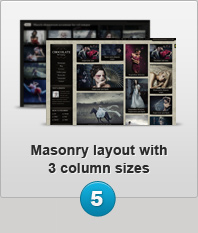 Masonry Layout with 3 column sizes
