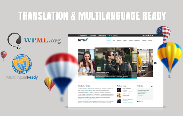 Nimble — Multipurpose Retina Ready WordPress Theme - 6