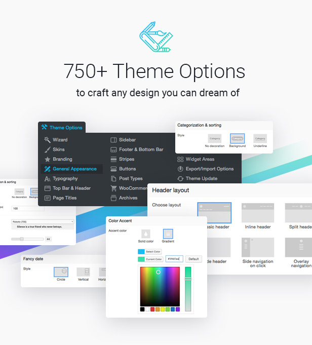 the7 options 30.12.16 - The7 — Multi-Purpose Website Building Toolkit for WordPress