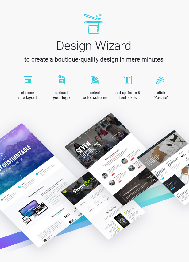 the7 wizard 30.12.16 - The7 — Multi-Purpose Website Building Toolkit for WordPress